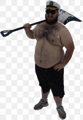 Fat Man - Snow Shovel Snow Removal T-shirt PNG