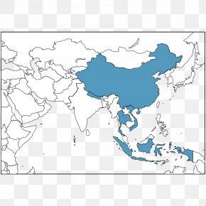 Southeast Asia China World Map, PNG, 842x595px, Southeast