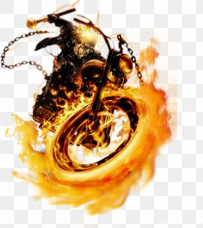 Ghost Rider Face Transparent - Ghost Rider Johnny Blaze Mephisto PNG