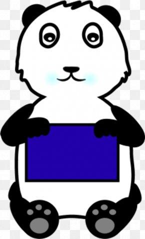 Panda Bear Clipart - Giant Panda Bear Clip Art PNG