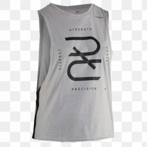 T-shirt - T-shirt Gilets Sleeveless Shirt Reebok White PNG