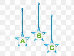 Beautiful Cartoon Cute Star Decoration ABC Letters - Computer Graphics Creativity PNG
