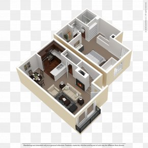 Apartment - Floor Plan Apartment The Woods At Toluca Lake House Bath PNG