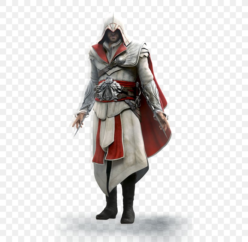 Assassin's Creed: Brotherhood Assassin's Creed II Assassin's Creed: Revelations Ezio Auditore, PNG, 450x800px, Ezio Auditore, Assassins, Costume, Costume Design, Figurine Download Free