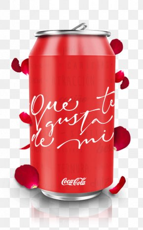 Carbonated Soft Drinks Cylinder - Beverage Can Aluminum Can Red Material Property Non-alcoholic Beverage PNG