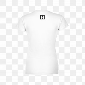 White T-shirt - T-shirt Clothing Sleeve Top PNG
