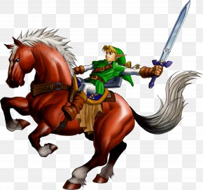 Chase Of Time - The Legend Of Zelda: Ocarina Of Time 3D The Legend Of Zelda: Majora's Mask Link Nintendo 64 PNG