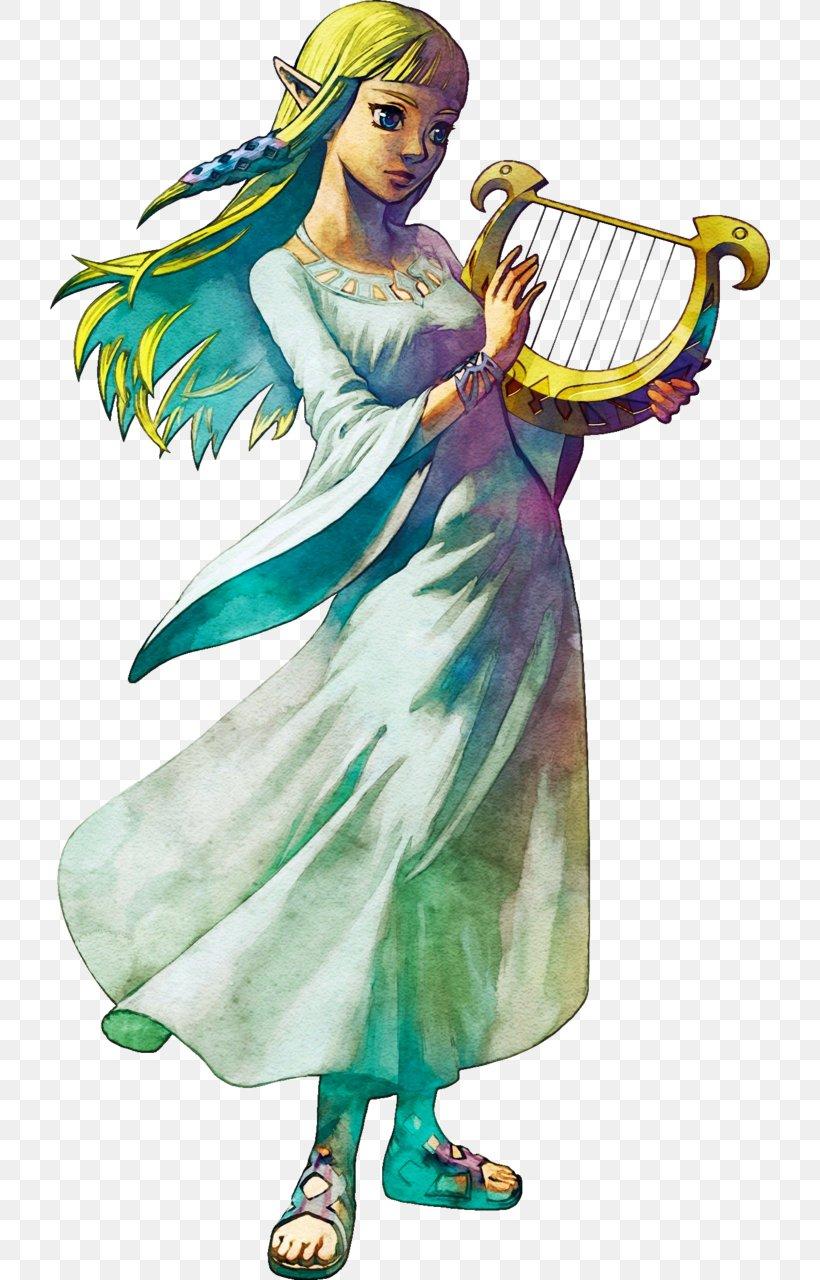 The Legend Of Zelda: Skyward Sword The Legend Of Zelda: Ocarina Of Time Princess Zelda Link The Legend Of Zelda: Breath Of The Wild, PNG, 720x1280px, Legend Of Zelda Skyward Sword, Angel, Art, Costume, Costume Design Download Free