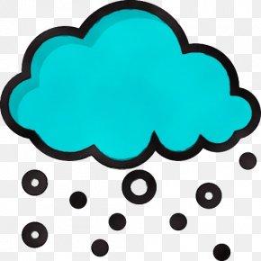 Cloud Teal - Aqua Green Turquoise Clip Art Teal PNG
