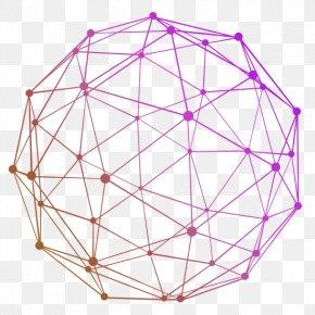 Technology Network Line Ball - Ball Technology Download PNG