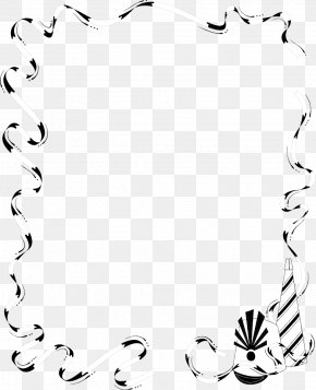 Chin Border Template - Borders And Frames Party Clip Art PNG