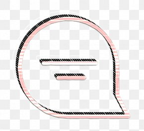 Pink Speech Icon - Message Icon Speaking Icon Speech Icon PNG