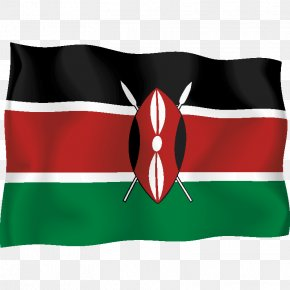 Flag - Flag Of Kenya Nairobi National Flag Flags Of The World PNG