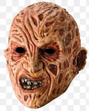 Mask - Freddy Krueger A Nightmare On Elm Street Latex Mask PNG