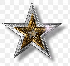 Red Star - Star Silver Gold Clip Art PNG