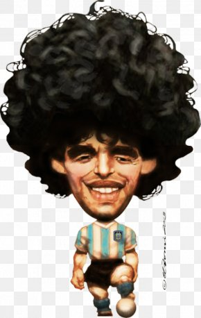 Diego Maradona Argentina National Football Team Caricature Boca Juniors Football Player PNG