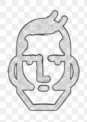 Coloring Book Venezuela Icon - Avatar Icon Bolivar Icon Face Icon PNG