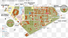 Campus - Campus Of Rice University Transportation & Parking Services Texas Tech University PNG