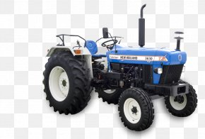 Tractor - John Deere New Holland Agriculture Tractor Mahindra & Mahindra PNG