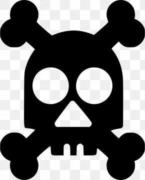 Skull - Skull And Crossbones PNG