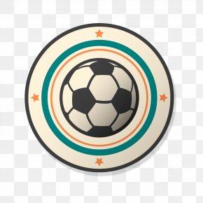 Cartoon Football Element - Football Team Sport Football Pitch PNG
