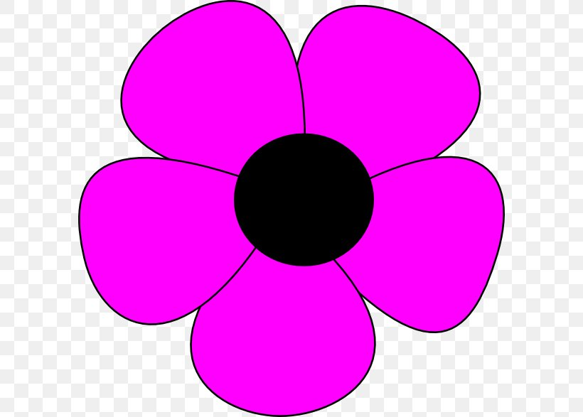 A Simple Flower Drawing Clip Art Png 600x587px Simple Flower Art Document Drawing Flower Download Free