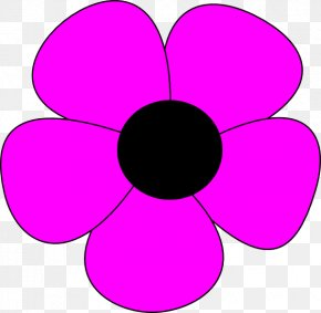 Simple Flower Drawing - A Simple Flower Drawing Clip Art PNG