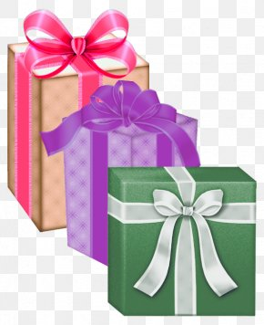 Gift Boxes Clipart PNG