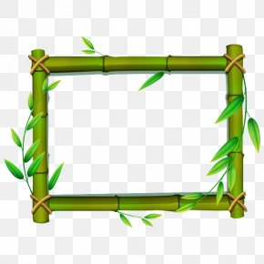 Bamboo Stick HD - Bamboo Picture Frame Clip Art PNG