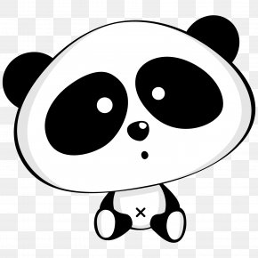 Panda Doll - Giant Panda Bear Li Cuteness Clip Art PNG