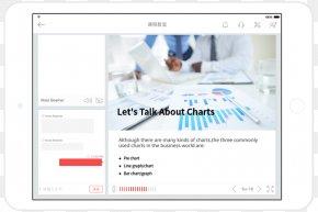 Ipad - Bar Chart Pie Chart Analysis Diagram PNG