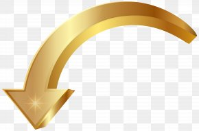 Arrow Gold Clip Art Image - Clip Art PNG