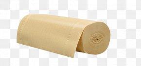 Original Color Paper Towel Toilet Paper Material - Material Beige Cylinder PNG