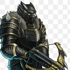 Knight - Gems Of War Gray Wolf Knight Armour Sword PNG
