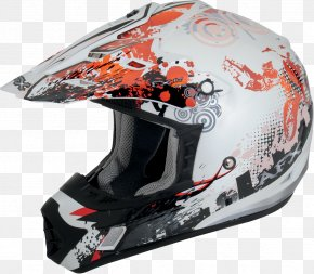 Motorcycle Helmets - Motorcycle Helmets All-terrain Vehicle Motocross PNG