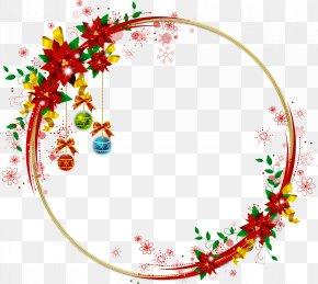 Santa Claus - Santa Claus Clip Art Borders And Frames Christmas Day PNG