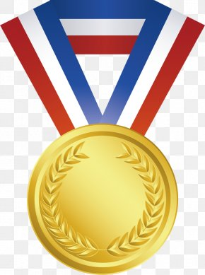 Honors - Gold Medal Olympic Medal Clip Art PNG