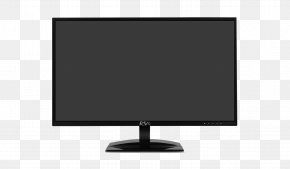 LED-backlit LCD LCD Television Computer Monitors Television Set Output Device PNG