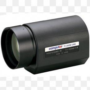 Camera Lens - Camera Lens Bik-Video Zoom Lens Focal Length Optics PNG