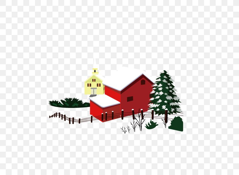 Christmas Snow House Winter, PNG, 600x600px, Christmas, Christmas Decoration, Christmas Ornament, Christmas Tree, Cottage Download Free