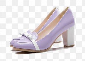 Purple Women High Heels - High-heeled Footwear Elevator Shoes Purple PNG