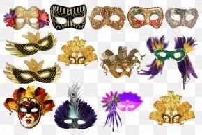 Halloween Mask - Mask Carnival Masquerade Ball PNG
