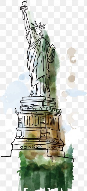 Statue Of Liberty Statue - Statue Of Liberty PNG