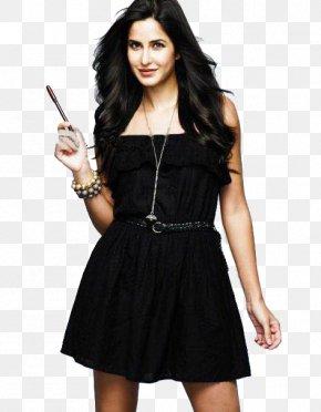 Actor - Katrina Kaif Dhoom 3 Actor Bollywood Little Black Dress PNG