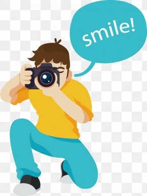 Vector Painted Photographer - Wedding Photography Photographer PNG