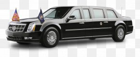 President Cadillac Sedan - President Of The United States Presidential State Car Cadillac DTS PNG