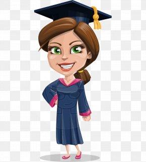 Graduated - Cartoon Graduation Ceremony Graduate University Clip Art PNG