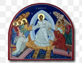 Resurrection Of Jesus Christ - Bible Resurrection Of Jesus Eastern Christianity Icon PNG