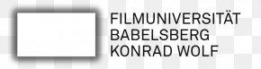 Film University Babelsberg KONRAD WOLF Logo Design Font PNG