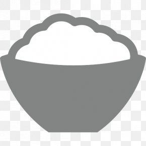 Rice Bowl - Emoji SMS Text Messaging Sticker Food PNG